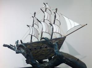 kracken sculpture